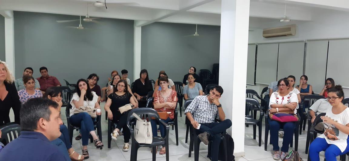 Reunión de Prestadores en el CPT