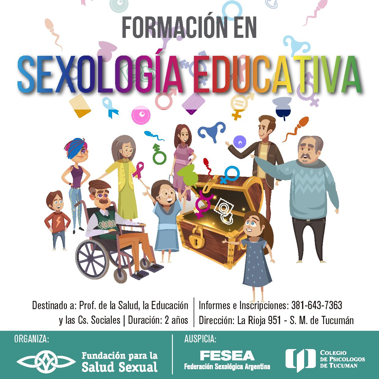 SEXOLOGÍA EDUCATIVA