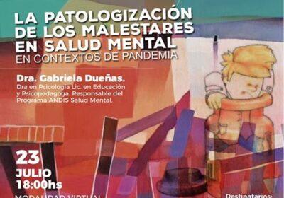 La patologización de los malestares en salud mental en contextos de pandemia