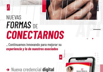 Swiss medical – Credencial virtual para sus afiliados