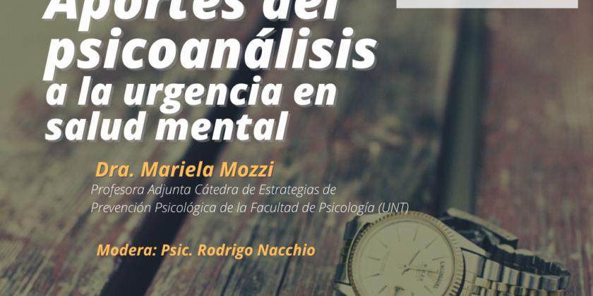 Aportes del psicoanálisis a la urgencia en salud mental