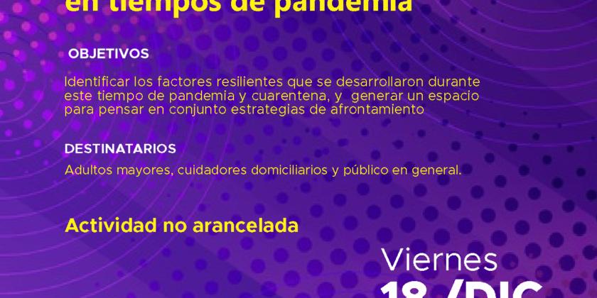 Resiliencia en tiempos de Pandemia