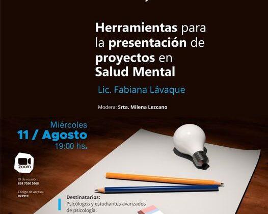 Herramientas para la presentación de proyectos en Salud Mental