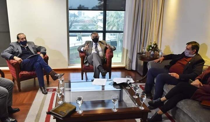 Reunión con Vicegobernador