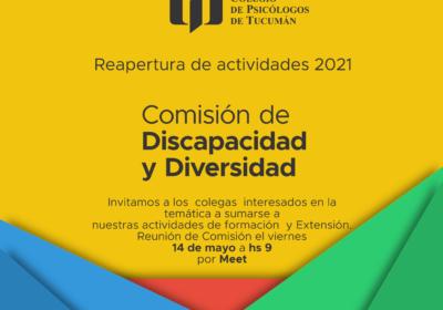 Comisión de Discapacidad y Diversidad