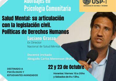 """Diplomatura Universitaria en """"Abordajes en Psicología Comunitaria"""""""